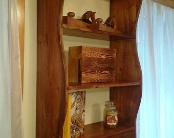 Fire and Rain - Wall Hung Shelf with Drawer
