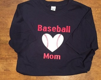 Baseball Mom tshirt
