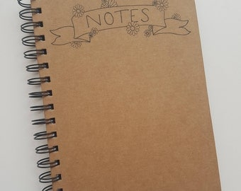 Daisy Kraft Notebook