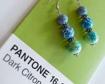 Statement Earrings: soft colors in Millefiori beauty