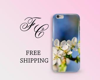Cherry Blossom Case Phone Case iPhone 7 Plus Case With Design  Flower iPhone 6 Case Flower iPhone 7 Case Floral iPhone 5 Case Floral cci