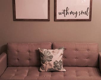 It Is Well With My Soul 24x36 Side by Side Prints