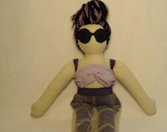 Devyn ooak handmade cloth doll