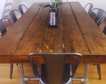 Railstore Rustic Industrial Table