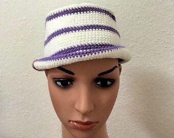 Hat Trilby Gr. 55-57cm crochet