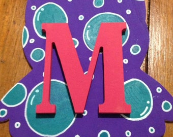 Polka Dot Owl (Custom letter and colors)