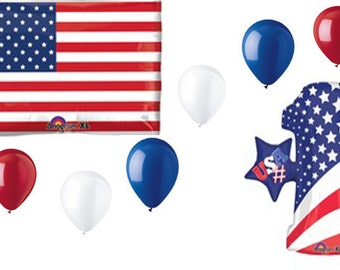 US Flag is #1 Balloon Bouquet