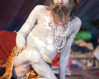 Sadhu with Beads