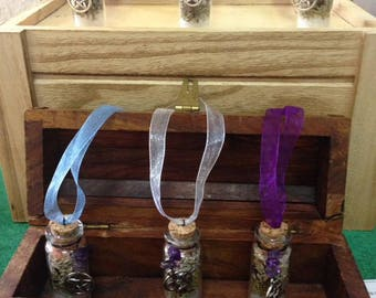 Protection Spell Bottles / Charms
