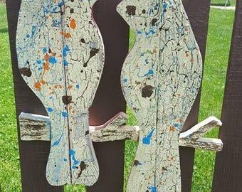 Woodstock Love - Door Hanger and/or Wall Art - Indoor / Outdoor Use