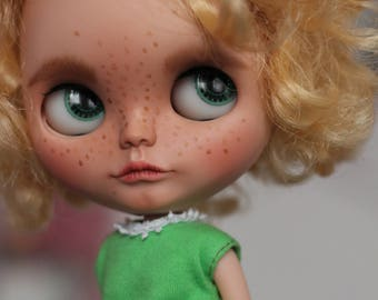 SALE OOAK custom Blythe doll by crafting with loove