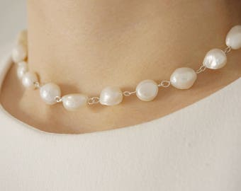 Bridesmaid Gift Bridal Necklace Bridal Jewelry Pearl Necklace Pearl Jewelry Wedding Necklace Wedding Jewelry Bridesmaid Jewelry Gift