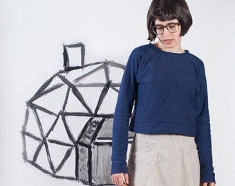 Blueprints For Sewing PATTERN - Geodesic Tunic & Crop Top
