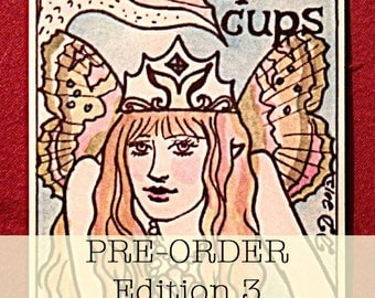 PRE-ORDER Dame Darcy Mermaid Tarot Edition 3, Tarot Decks, Oracle, Fortune telling, Witch, Halloween, Divination, Cartomancy