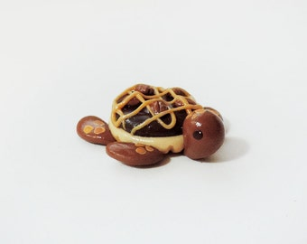 "Chocolate Tart Turtle ""Tartle"" Miniature Figure"