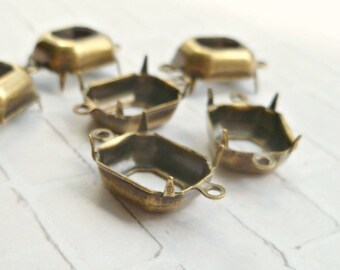 Brass Ox 12x10 Octagon Two Loop Settings (13-18F-12)