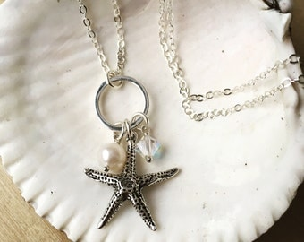 Starfish Necklace - Sterling Silver STARFISH DREAMS