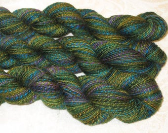 Handspun Yarn - Merino Wool and Silk