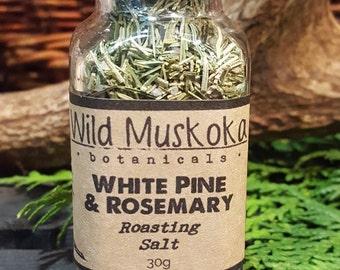 White Pine & Rosemary Salt