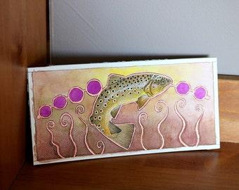 Gillaroo Trout - Original Art