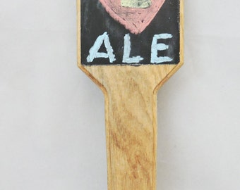 Chalkboard Tap Handle - Man Cave