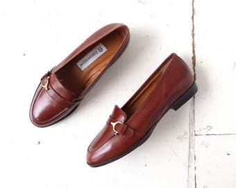 Etienne Aigner Shoes | Brown Loafers | Deadstock | Size 6