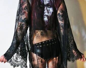 Gorgoroth Lace Robe