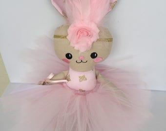 Ballerina Bunny Handmade Ready to Ship