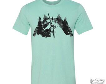 Men's UNICORN t shirt s m l xl xxl (+ Color Options) hand screen printed