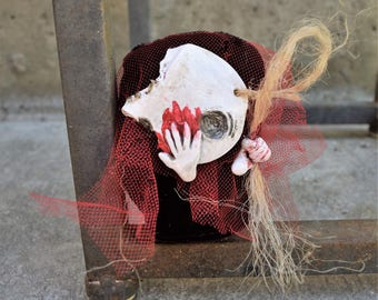 Specter #4 - OOAK Art Doll