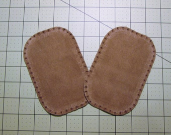 Suede Elbow Patches in 6 Colors