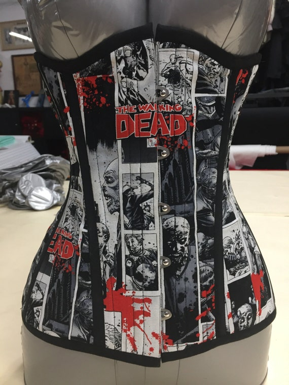 Zombies! Long Line Corset