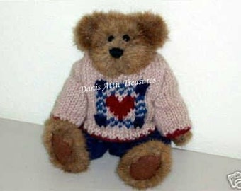 """Vintage Boyds Bears Retired 8"""" Matthew Fall 1996 #91756, Bailey & Friends Series, Vintage 1997 Collectible MWT"""