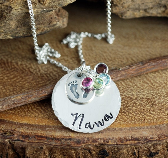 Nana Necklace, Grandma Necklace, Gift for Grandma, Grandma Jewelry, Nana Necklace, Personalized Jewelry, Mommy Necklace, Gift for Nana