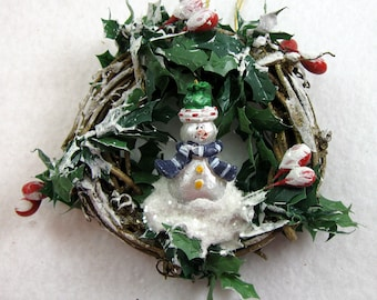 Snowman Christmas Ornament - Let It Snow 406