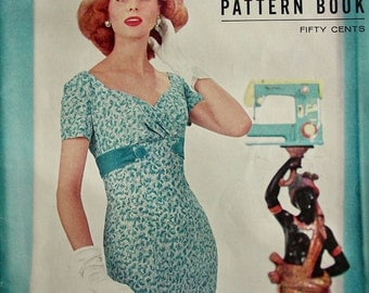 Vintage 1957  Modes Royale  PATTERN BOOK Catalog  for Spring and Summer - 42 Pages of the most Delicious Patterns