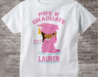 Personalized Pre-K Graduate Shirt Kindergarten Graduate Shirt Child's Back To School Shirt 04182016a