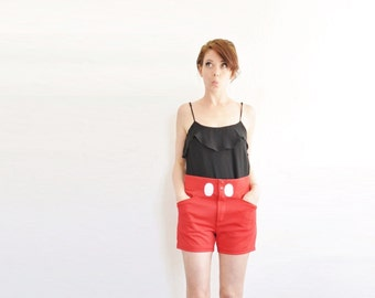 real deal mickey mouse shorts . mouse tail . huge buttons . etc .small.medium .sale