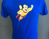 Mighty Mouse 1990s vintage tee shirt - size medium/large