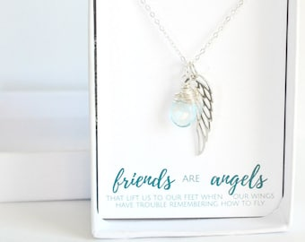 Gift for Friend - Sterling Silver Friendship Necklace - Best Friend Birthday Gift - Personalized Best Friend Necklace