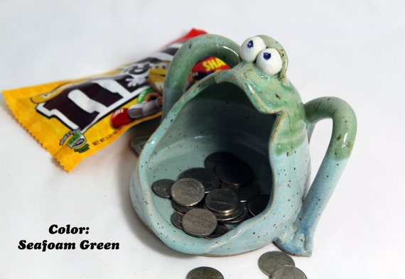 Happy Frog Head Fun Pot in 5 colors