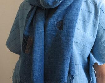 SPRING SALE 10% OFF - SKUIDHB36: Boro scarf no.36