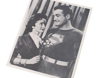 The Adventures of Superman 1951 Publicity Photo Studio Copy