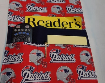 Patriots Chair Caddy, Arm Chair Caddy, New England Patriots, Football Decor, Football Remote Caddy