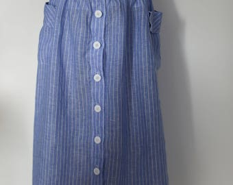 Beautiful linen skirt size small