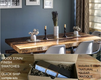 rustic dining table modern wood dining table loft wood table purchase a finish - Rustic Dining Set