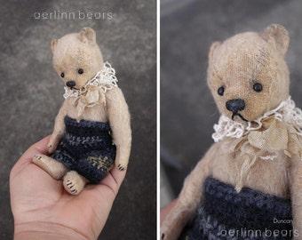 Vintage Style Mohair Artist Teddy Bear from Aerlinn Bears
