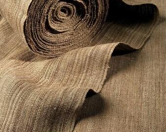 NETTLE FABRIC - hand woven