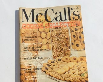 McCall's Cookie Collection Cookbook 1974 Edition Recipes Paperback
