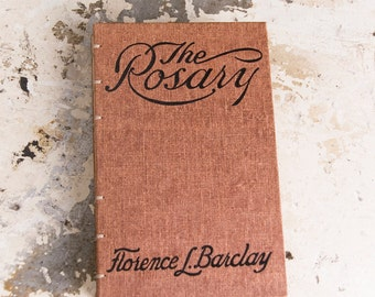 1910 THE ROSARY Vintage Notebook Journal